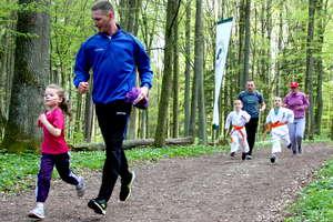 Rodzinne bieganie w Lesie Miejskim