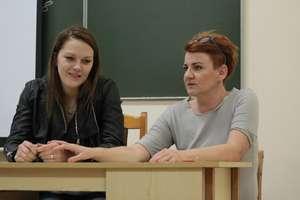 Siatkarka Justyna Sosnowska odwiedziła