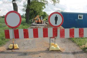 Droga powiatowa w Pleśnie zamknięta dla ruchu