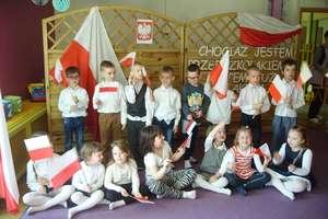 Święto Flagi w Przedszkolu Miejskim nr 4 w Działdowie
