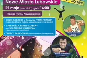Taniec i fitness w deszczu już w niedzielę!