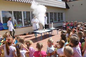 Przedszkolaki bawiły się chemią