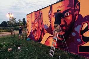 Nad Iławką powstało wielkie graffiti [ZDJĘCIA]