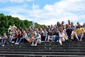 Uczniowie nidzickiego ZSO z wizytą w bawarskich Alpach