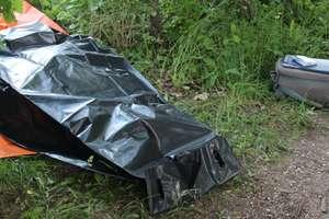 Tragedia nad jeziorem Niegocin. Utonął 68-letni rowerzysta