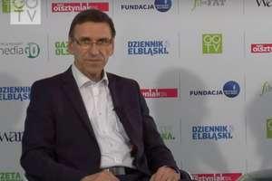 Prezydent Piotr Grzymowicz gościem GO TV