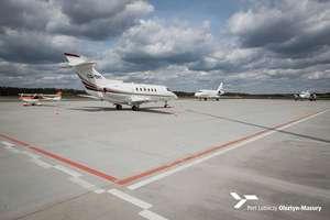 Na lotnisku Olsztyn - Mazury robi się coraz tłoczniej