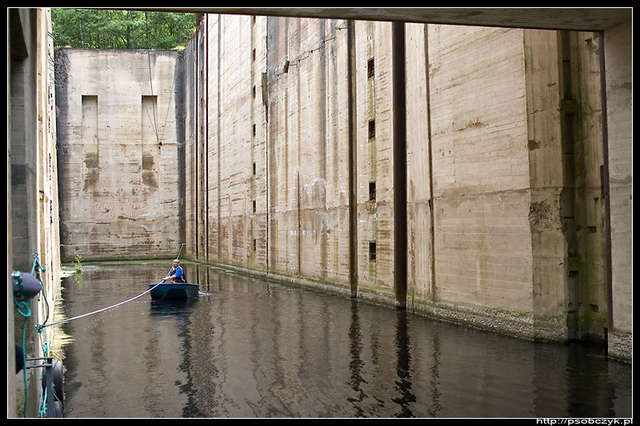 Śluza Guja na Kanale Mazurskim
