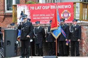 70-lecie Ochotniczej Straży Pożarnej w Braniewie