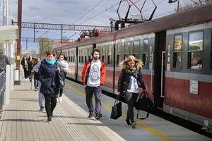 Kolej remontuje trasę między Olsztynem a Toruniem