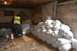 Wielka akcja straży granicznej: Zatrzymano pięciu Polaków i 22 tony suszu