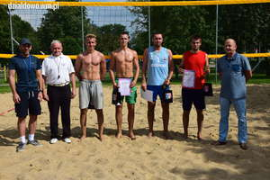 Siatkarze z Lidzbarka wygrali turniej plażówki w Działdowie