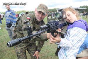 Na pikniku NATO można było zobaczyć nowoczesny sprzęt wojskowy