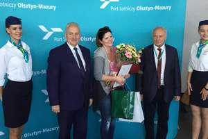 Port Olsztyn-Mazury odprawił 10 000 pasażerów. Zobacz przylot Airbusa 320 i film z konferencji prasowej