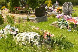 Rozkopany grób i spalona dziecięca trumna. Ok. 20 nagrobków zniszczonych