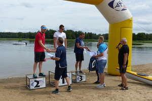 Maraton pływacki na jeziorze Gołdap