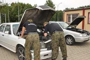 Pojazdy zatrzymane na granicy z Federacja Rosyjską
