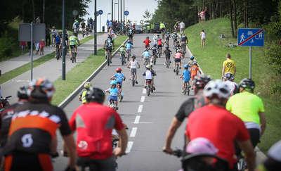 Ponad tysiąc rowerzystów ścigało się w Olsztynie