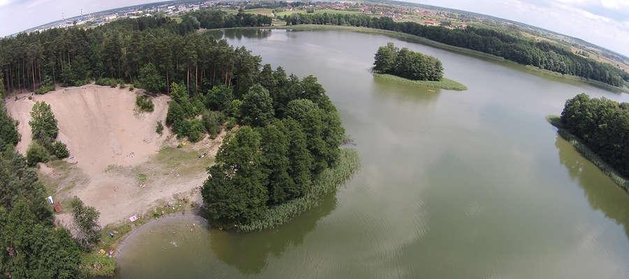 Jednym ze zwycięskich projektów zintegrowanych jest zagospodarowanie plaży nad jeziorem Skanda