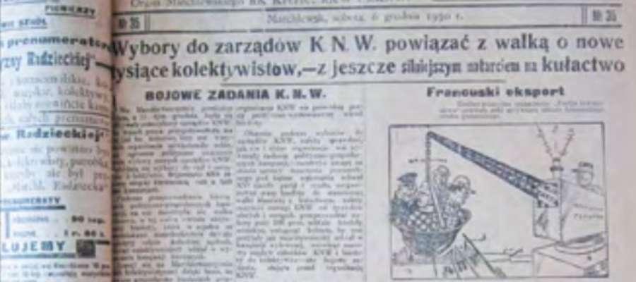 Powstanie i tragedia Rejonu Marchlewskiego