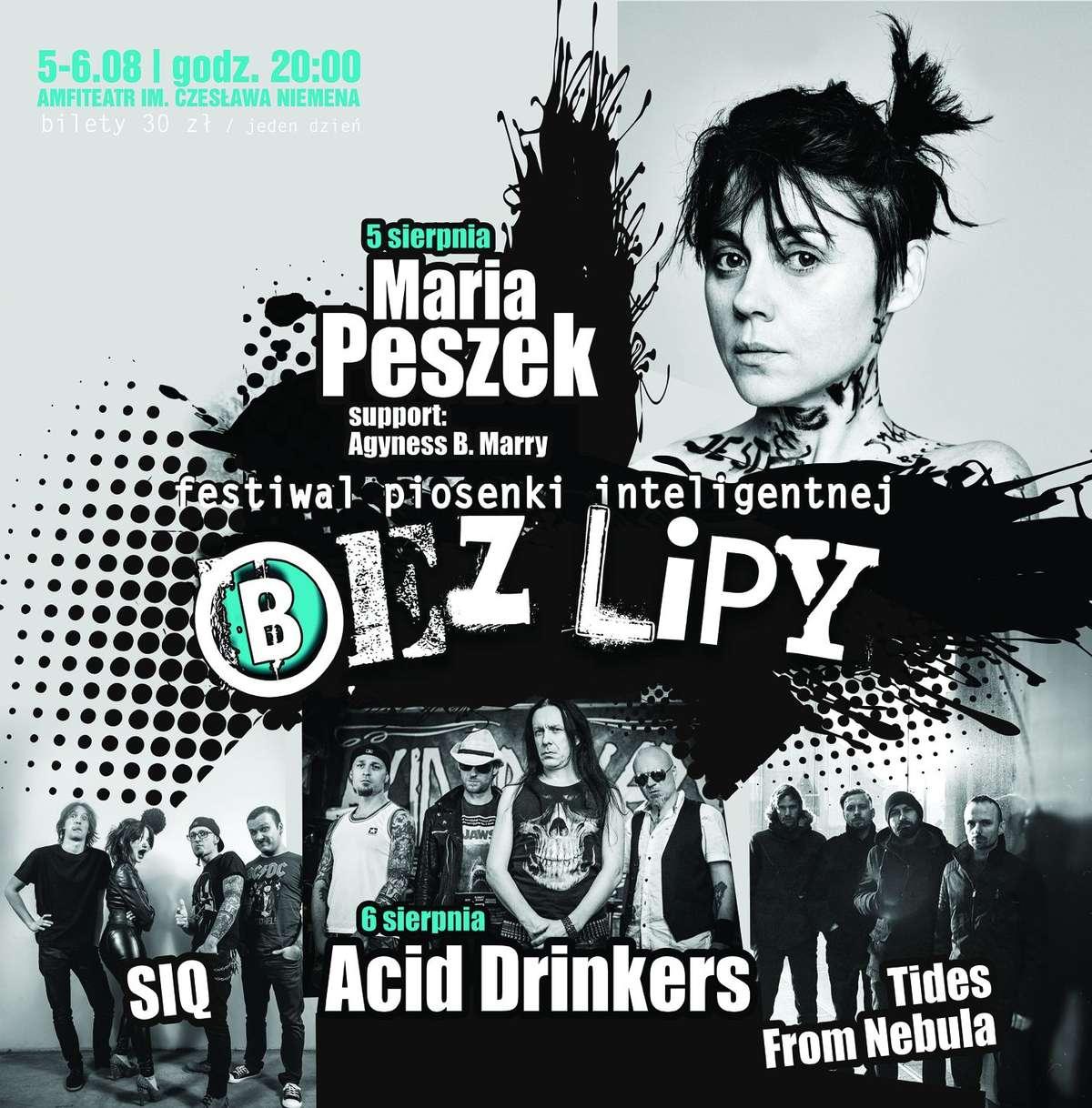 Bez Lipy w amfiteatrze. Na scenie m.in. Maria Peszek i Acid Drinkers - full image