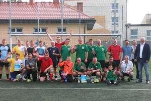 Turniej piłki nożnej o puchar komendanta policji