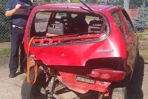 Dwa wypadki drogowe - dwie osoby ranne