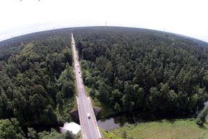 W Lesie Miejskim w Olsztynie stanęły wysokie słupy [FILM I ZDJĘCIA]