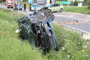 6 osób rannych w wypadku na DK 63. Fordem wjechała w toyotę