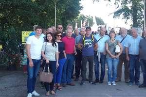 Nasi przedstawiciele w niemieckim Hude