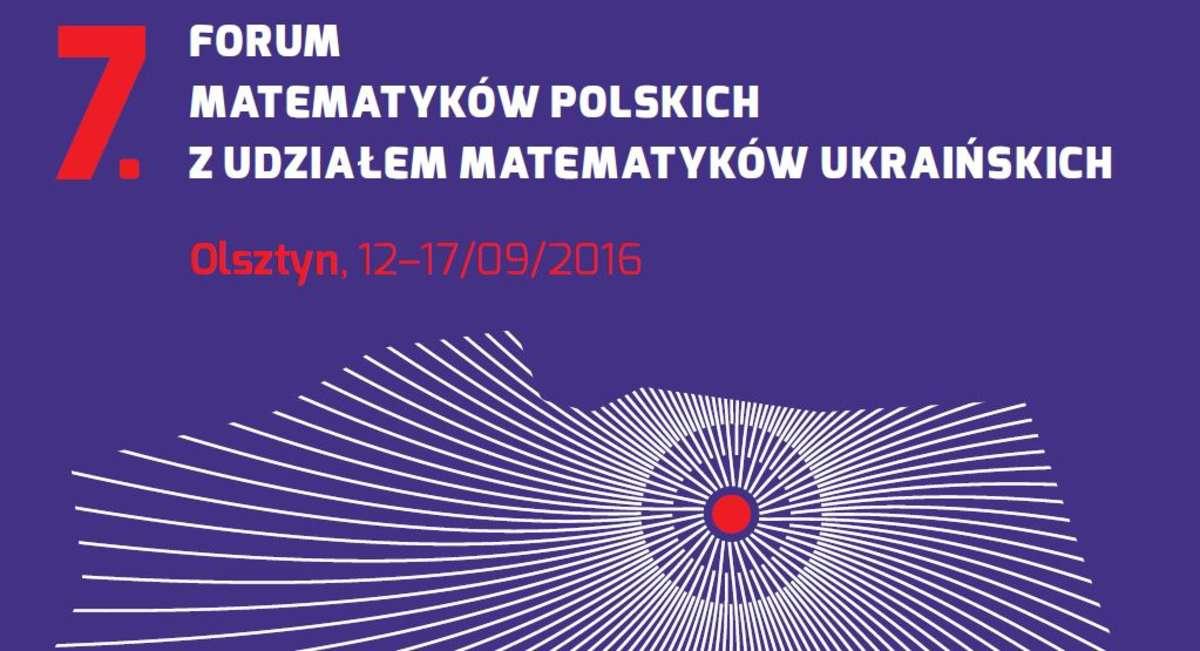 VII Forum Matematyków Polskich w Kortowie. Zobacz program! - full image