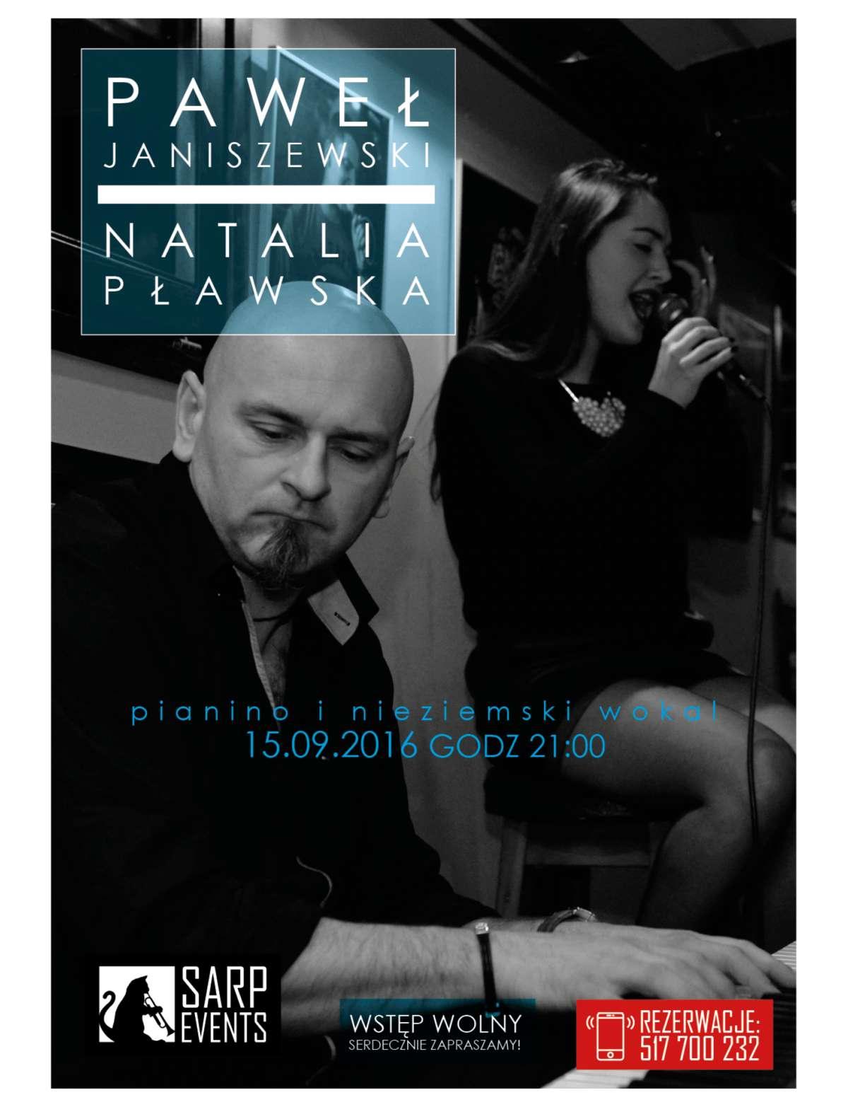 Sarp zaprasza: na scenie Paweł Janiszewski i Natalia Pławska  - full image
