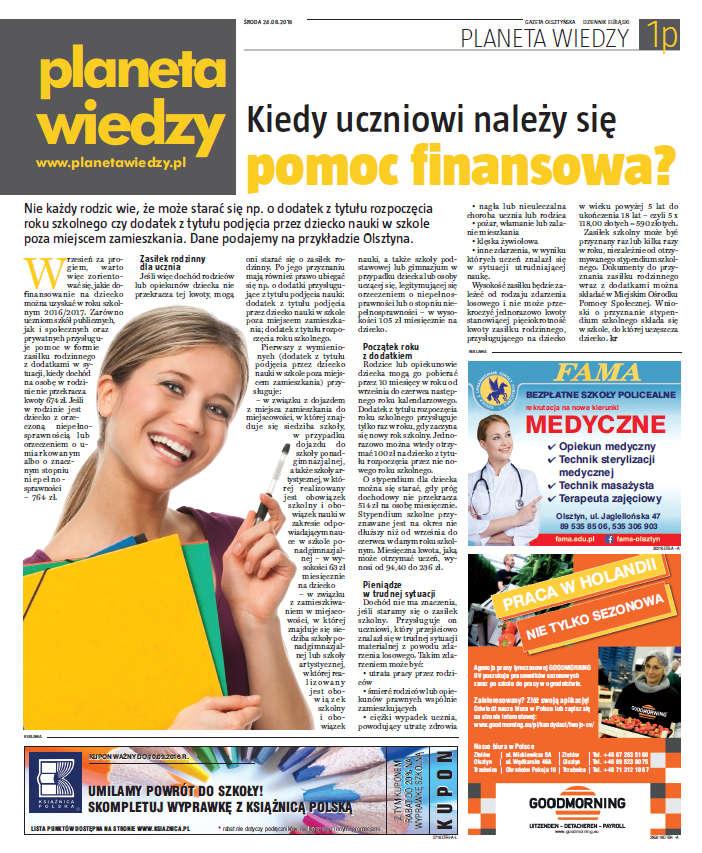 Planeta Wiedzy - pobierz wydanie z sierpnia 2016