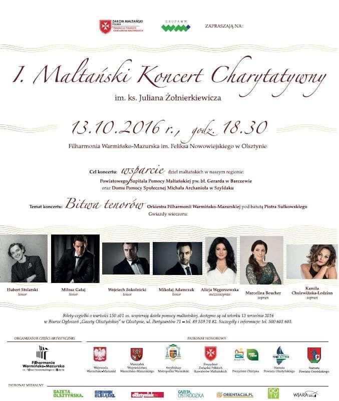 Koncert Maltański w Olsztynie: wspaniałe głosy i idea  - full image