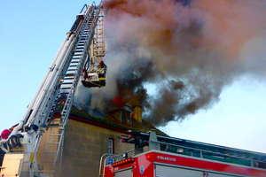 Groźny pożar domu w Brodzikowie