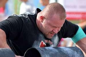 Piotr Czapiewski IV w Pucharze Polski Strongman