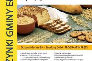 10 września odbędą się Dożynki Gminy Ełk w Stradunach