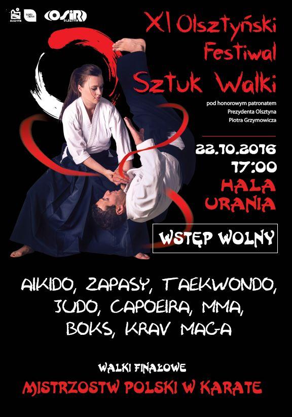 XI Olsztyński Festiwal Sztuk Walki