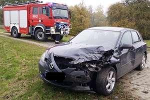 W pobliżu Bemowizny zderzyły się trzy samochody. Jedna osoba trafiła do szpitala
