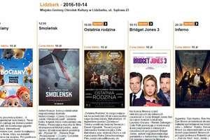 Zapraszamy do kina w Lidzbarku