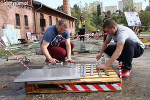 Jesienne grillowanie z ostatnią budką w Olsztynie [ZDJĘCIA]