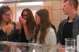 Gimnazjaliści wzięli udział w zajęciach na Uniwersytecie Warmińsko – Mazurskim