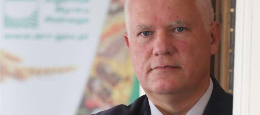 Dariusz Wasiela, dyrektor Oddziału Terenowego Agencji Rynku Rolnego w Olsztynie