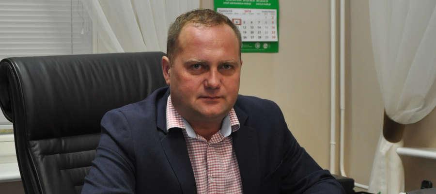 Dyrektor Warmińsko-Mazurskiego Ośrodka Doradztwa Rolniczego z siedzibą w Olsztynie, Damian Godziński