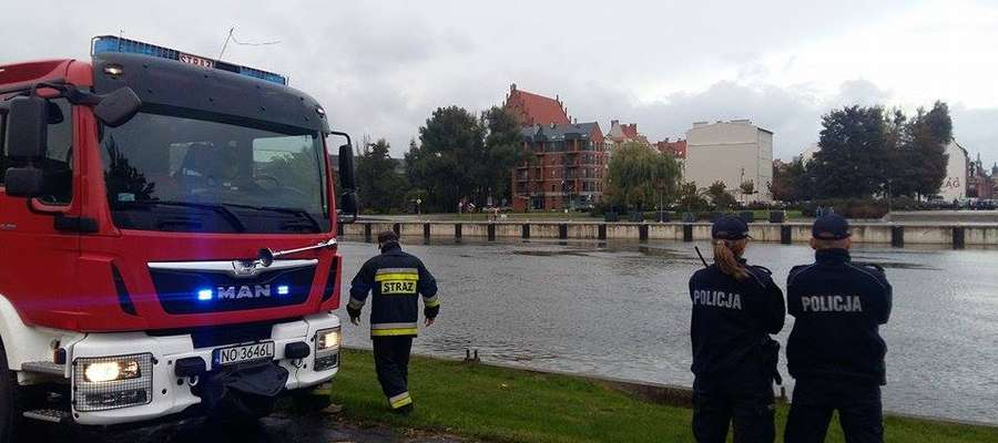 Ciało wyłowiono 3 października w rzece w Elblągu
