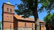 Prosity: Kościół z XIV w. p.w. Wniebowzięcia Najświętszej Maryi Panny