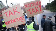 Protest na Bałtyckiej w Olsztynie. Mieszkańcy walczą o nową ulicę [FILM]
