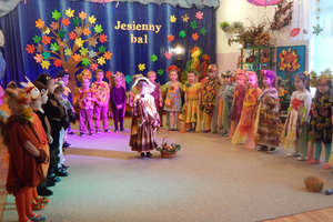 Jesienny bal w przedszkolu
