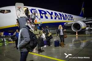 Ryanair zainaugurował połączenie z Szyman do Londynu