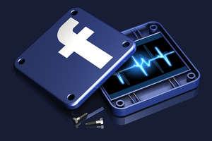 Facebook na widelcu